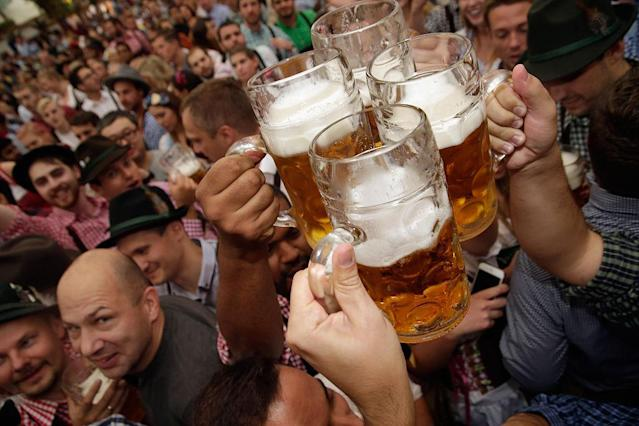 <p>No. 10: Oktoberfest<br>Location: Bavaria, Germany<br>Tags: 2,262,885<br>(Photo by Johannes Simon/Getty Images) </p>