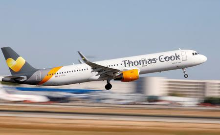 Thomas Cook considers airline sale as losses hit £60m