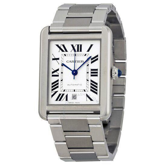 """<p><strong>Cartier</strong></p><p>jomashop.com</p><p><strong>$3395.00</strong></p><p><a href=""""https://go.redirectingat.com?id=74968X1596630&url=https%3A%2F%2Fwww.jomashop.com%2Fcartier-watch-w5200028.html&sref=https%3A%2F%2Fwww.townandcountrymag.com%2Fstyle%2Fjewelry-and-watches%2Fg34741522%2Fbest-jewelry-gift-ideas%2F"""" rel=""""nofollow noopener"""" target=""""_blank"""" data-ylk=""""slk:Shop Now"""" class=""""link rapid-noclick-resp"""">Shop Now</a></p><p>A Cartier Tank Solo is a must-have for any watch or jewelry aficionado. </p>"""