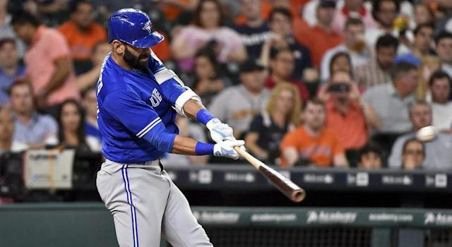 If Jose Bautista is making contact consistently out of the gate it will be a good sign for the Blue Jays.