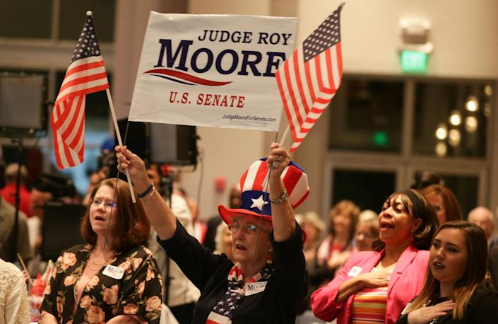 Nine women have accused Roy Moore of sexual misconduct. Some of Moore's supporters say those women are being paid to lie. (Photo: Marvin Gentry / Reuters)