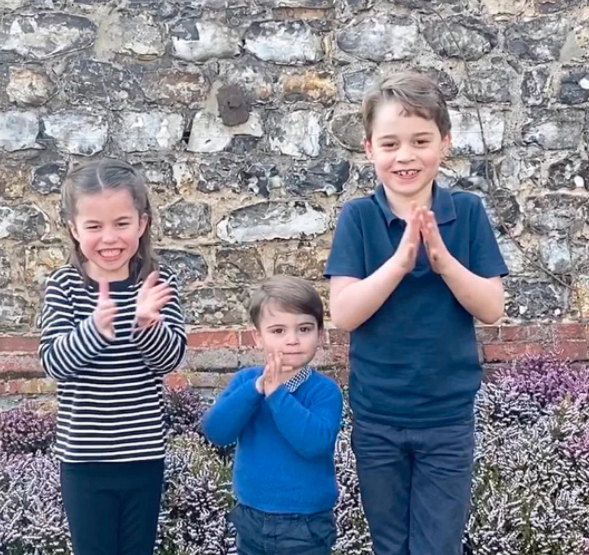 Princess Charlotte, Prince George and Prince Louis have no idea they are studying through the school holidays. Photo: Instagram/ Kensignton Royal