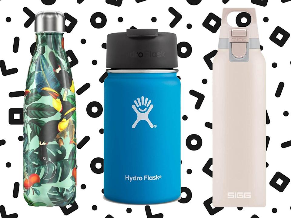 Make sure if its a plastic flask that it's BPA free (iStock/The Independent)