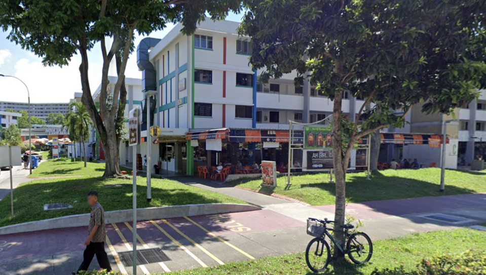 A view of Block 539 Bedok North Street 3 and its cycling and pedestrian paths. (PHOTO: Google Street View)