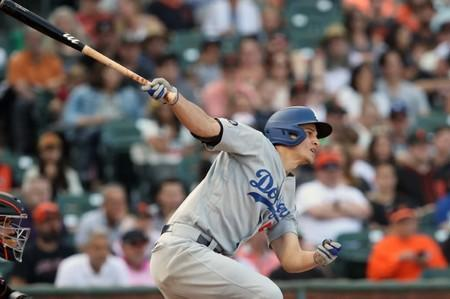 FILE PHOTO: MLB: Los Angeles Dodgers at San Francisco Giants