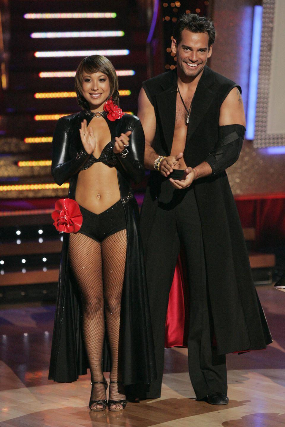 "<p>The soap star had a severe muscle cramp and went to the hospital after performing the samba on the show. ""It hurts,"" he told <em><a href=""https://people.com/tv/dwts-cristian-de-la-fuente-injured-on-dancefloor/"" rel=""nofollow noopener"" target=""_blank"" data-ylk=""slk:People"" class=""link rapid-noclick-resp"">People</a> </em>backstage. ""It hurts the arm and it hurts that I couldn't do it, you know, it's tough."" The Chilean actor also detached one of his tendons from its bone. He was able to dance his way to third place and had surgery after the show to repair it.</p>"