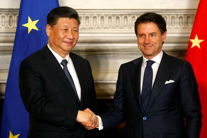 Italy Endorses China's Belt and Road Plan, a First For a G7 Nation Amid Washington-Beijing Trade War