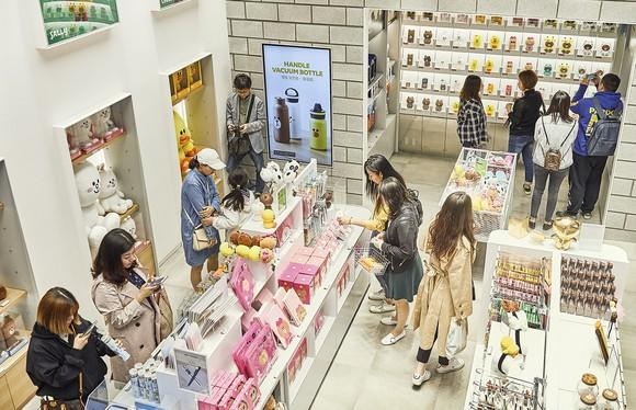 A Line Friends store in Japan.
