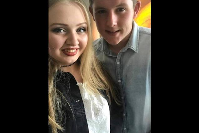 <p>Chloe Rutherford & Liam Curry. (Photo: Greater Manchester Police via Twitter) </p>