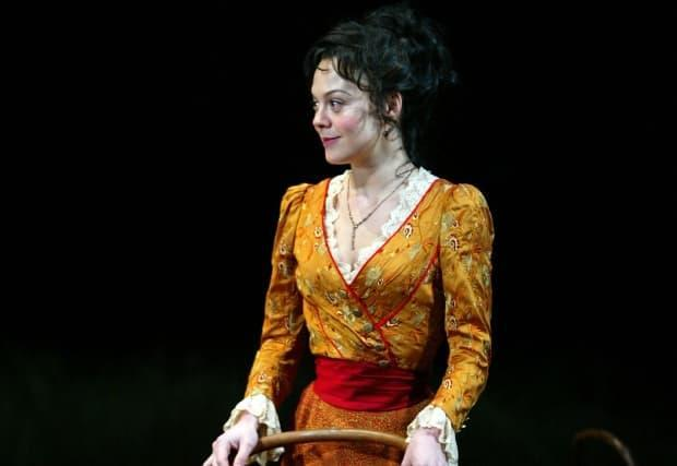McCrory performs as Yelena in the play Uncle Vanya at the Brooklyn Academy of Music Harvey Theater on Jan. 16, 2003, in New York City.