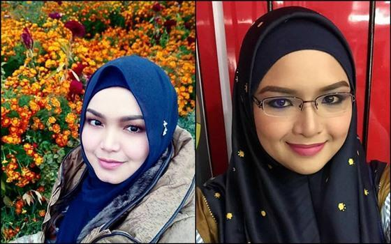 Many people can't help but notice her resemblance to the famous Malaysian singer