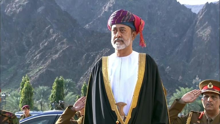 Oman's new ruler Haitham bin Tariq pledged to follow his predecessor's policy of neutrality (AFP Photo/HO)