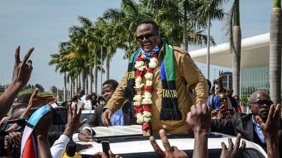 On Monday, Tanzanian opposition leader Tundu Lissu is welcomed back to the country for the first time since someone tried to assassinate him.