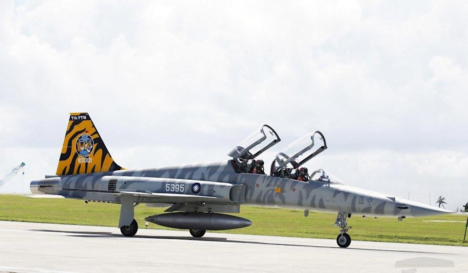 Taiwan's air force has grounded its ageing F-5 fighter jets. Photo: EPA-EFE