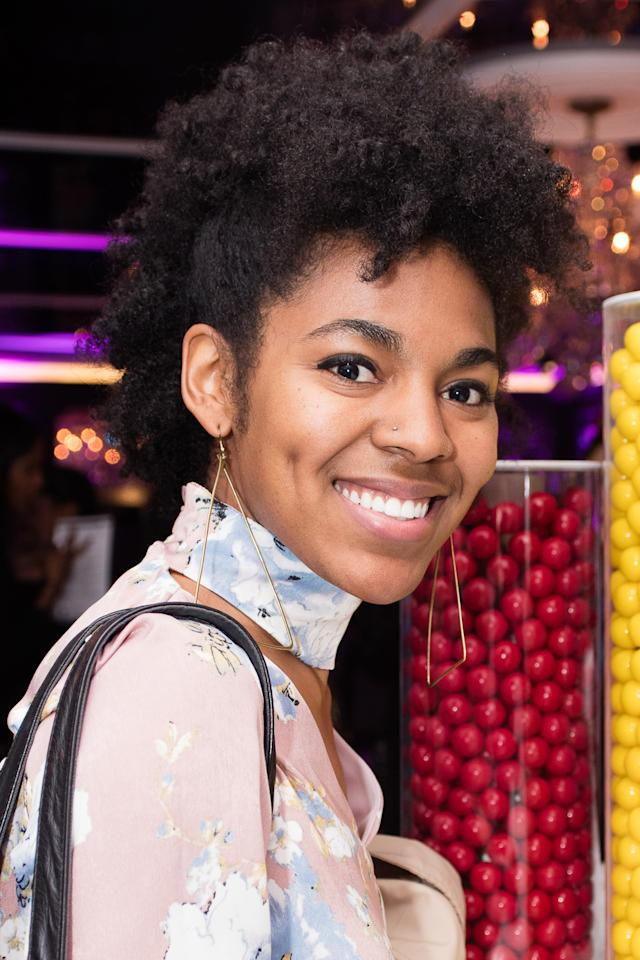 <p>There were so many amazing hair and makeup looks at the 2017 ESSENCE Best In Black Beauty Cocktail Party at The Sugar Factory in New York City.</p>