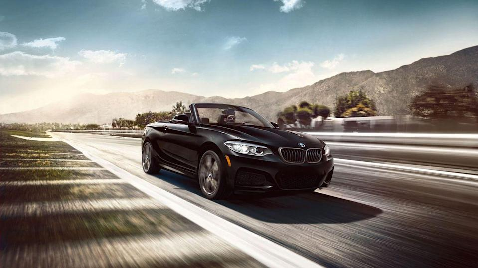 "<p>The <a href=""https://www.caranddriver.com/bmw/2-series"" rel=""nofollow noopener"" target=""_blank"" data-ylk=""slk:2021 BMW 2-series"" class=""link rapid-noclick-resp"">2021 BMW 2-series</a> delivers everything we love about <a href=""https://www.caranddriver.com/bmw"" rel=""nofollow noopener"" target=""_blank"" data-ylk=""slk:BMW's"" class=""link rapid-noclick-resp"">BMW's</a> sporty driving dynamics in a handsome, well-priced package. Offered in both hardtop coupe and softtop convertible body styles, the 2-series is a compact sports car with plenty of compelling traits. The 230i model is powered by a 248-hp turbocharged four-cylinder, but upgrading to the M240i swaps in a turbocharged 3.0-liter inline-six that makes a stout 335 horsepower. Rear-wheel drive is standard, but BMW offers its xDrive all-wheel drive system as an option on both models. If you're looking for more practicality, you might find that one of this car's four-door rivals—such as the <a href=""https://www.caranddriver.com/audi/a3"" rel=""nofollow noopener"" target=""_blank"" data-ylk=""slk:Audi A3"" class=""link rapid-noclick-resp"">Audi A3</a>, the <a href=""https://www.caranddriver.com/mercedes-benz/a-class"" rel=""nofollow noopener"" target=""_blank"" data-ylk=""slk:Mercedes-Benz A-class"" class=""link rapid-noclick-resp"">Mercedes-Benz A-class</a>, or even <a href=""https://www.caranddriver.com/bmw/2-series-gran-coupe"" rel=""nofollow noopener"" target=""_blank"" data-ylk=""slk:BMW's own 2-series Gran Coupe"" class=""link rapid-noclick-resp"">BMW's own 2-series Gran Coupe</a>—fits the bill, but the 2-series coupe and convertible will be the choice of those who value driving verve over day-to-day usefulness.</p><p><a class=""link rapid-noclick-resp"" href=""https://www.caranddriver.com/bmw/2-series"" rel=""nofollow noopener"" target=""_blank"" data-ylk=""slk:Review, Pricing, and Specs"">Review, Pricing, and Specs</a></p>"