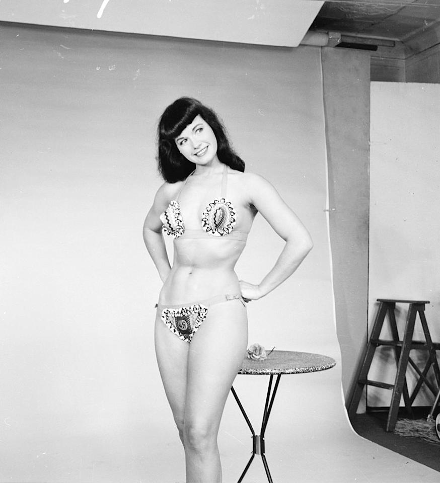 Image result for bettie page playboy