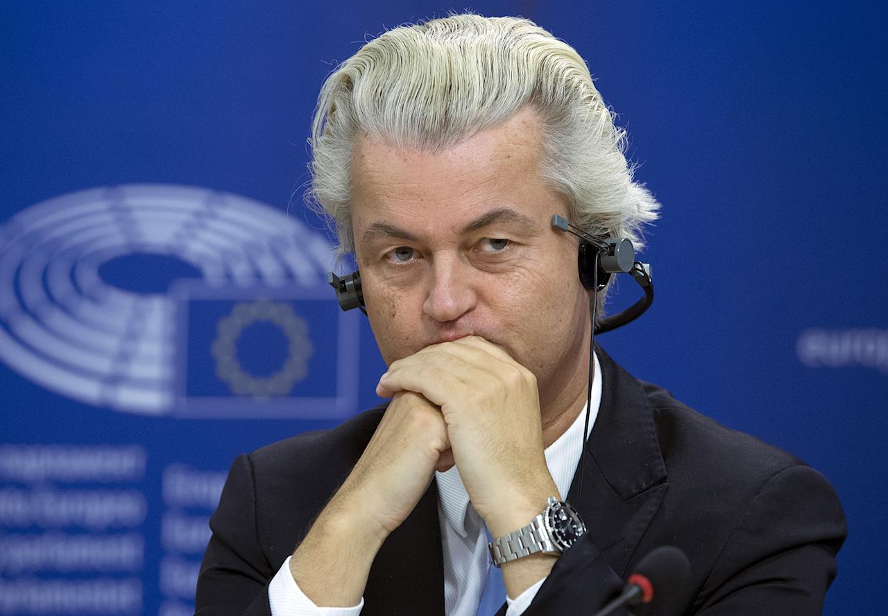 "<p>Dutch far-right Party for Freedom (PVV) leader Geert Wilders attends a joint news conference at the European Parliament in Brussels, Belgium, June 16, 2015. Far-right parties announced they had enough support to form an anti-European Union group called ""Europe of Nations and Freedoms"" in the European Parliament after failing to do so a year ago, a move giving them extra funding, staffing and weight in the EU assembly. (Photo: Yves Herman/Reuters) </p>"