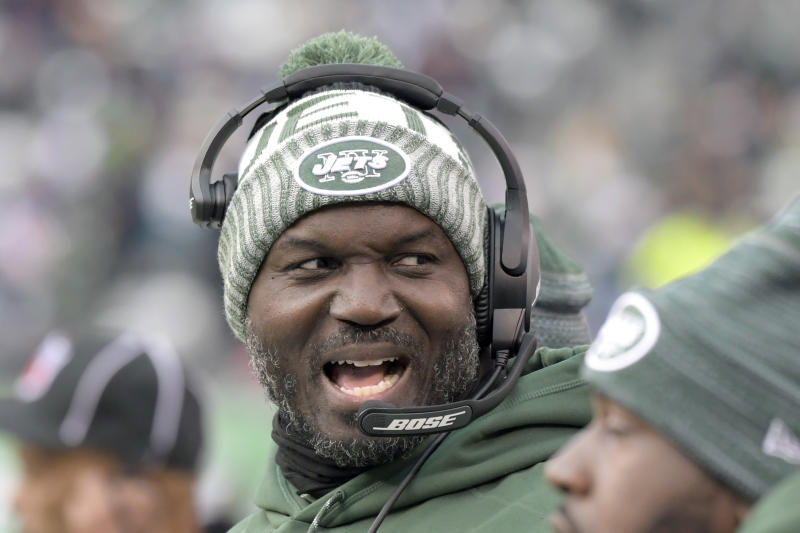 New York Jets head coach Todd Bowles had his contract extended before the season finale. (AP)