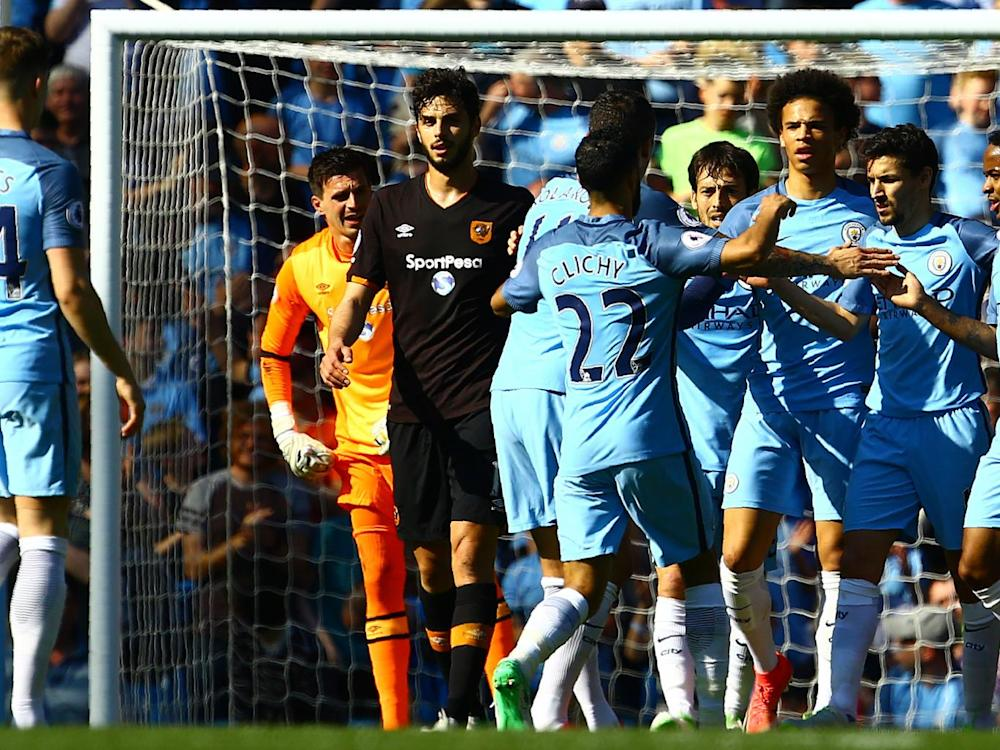 Elmohamady's own goal put the home side in front (AFP/Getty)
