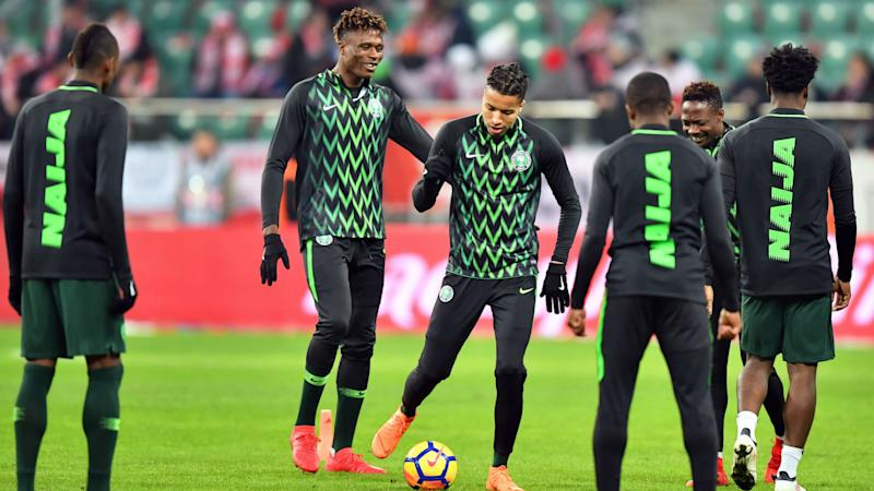 fdee60e675 EXTRA TIME  Queue as fans purchase Nigeria 2018 World Cup kits