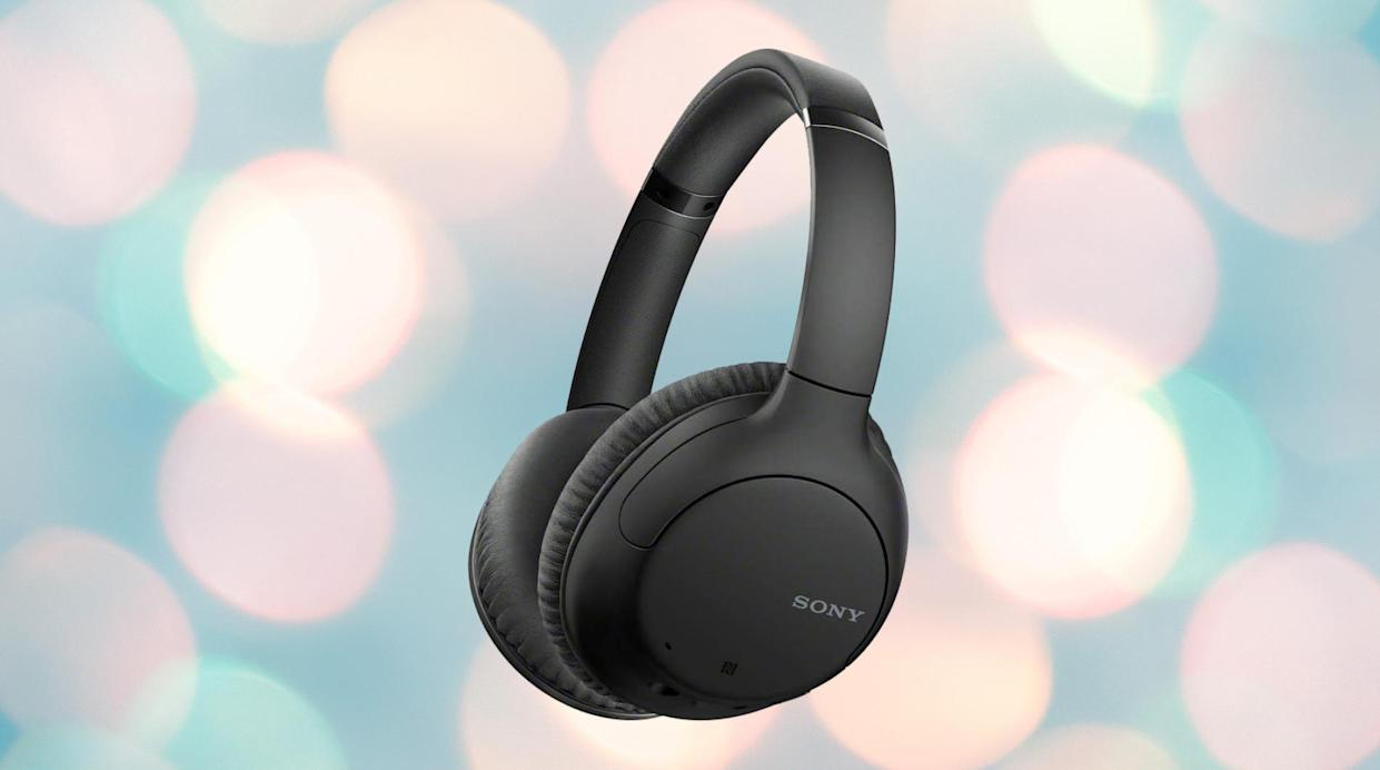 Save over 50 percent on these noise-canceling headphones — that's over 25 percent per ear!(Photo: Amazon)