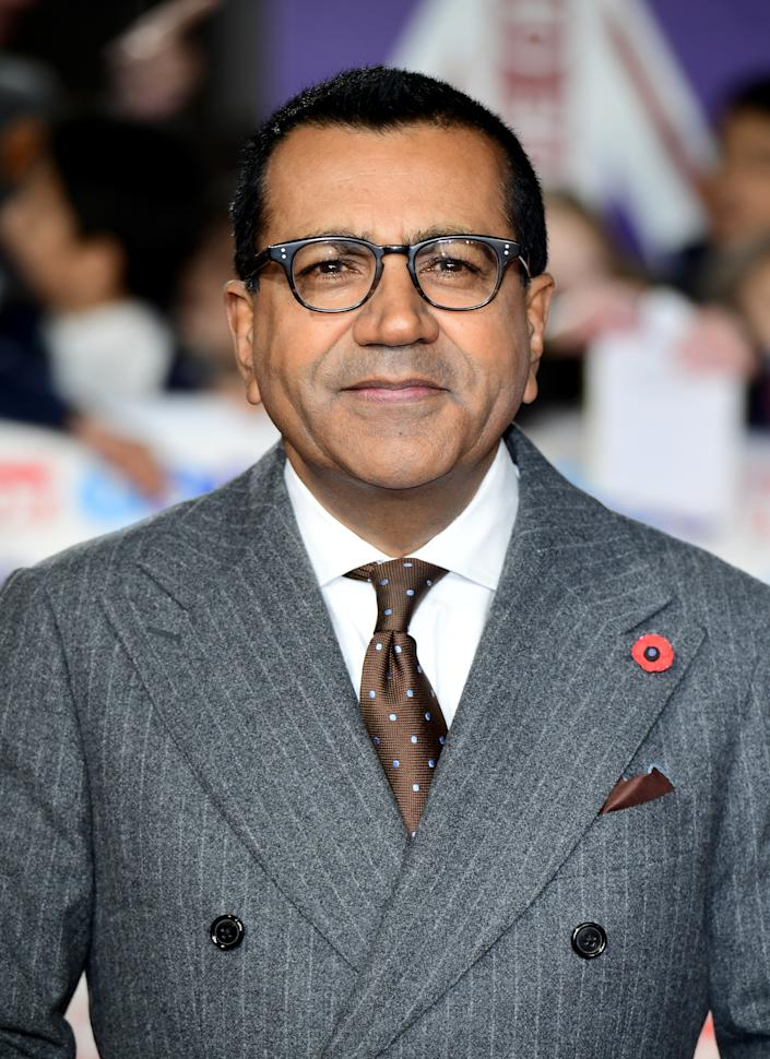 Martin Bashir arriving for the Pride of Britain Awards held at the The Grosvenor House Hotel, London. (Photo by Ian West/PA Images via Getty Images)