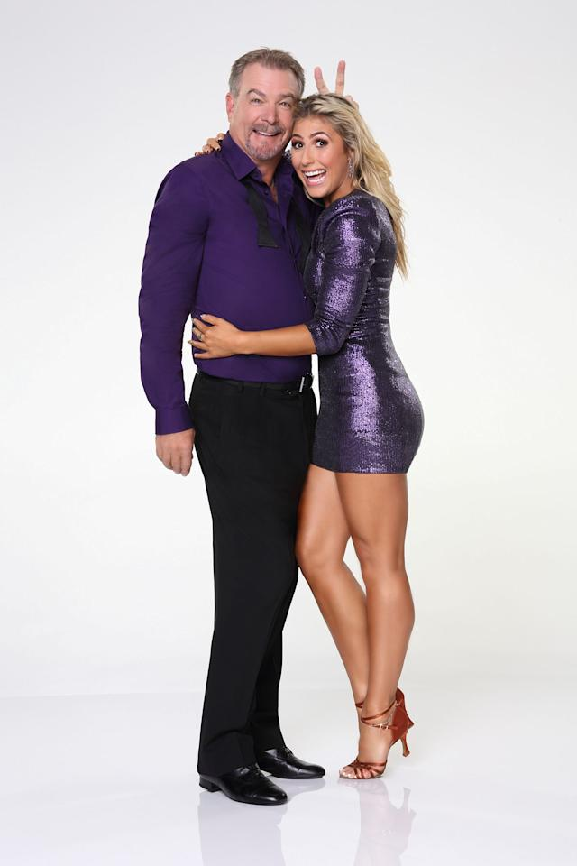 """Bill Engvall joins first time professional partner Emma Slater on ABC's """"Dancing With the Stars"""" Season 17."""