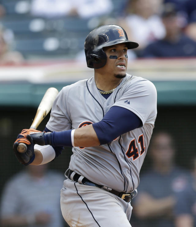 Victor Martinez (AP Photo/Tony Dejak)