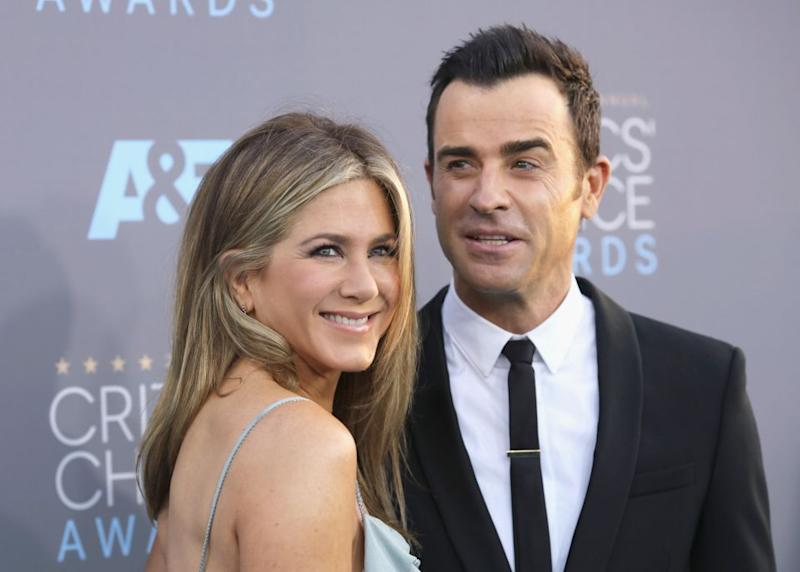 Jennifer Aniston and her hubby Justin Theroux have split after two years of marriage. Source: Getty