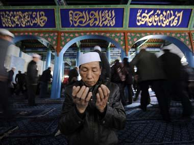 Hui Muslims protest in China's Ningxia against government plan to demolish mosque, amid curbs on Islam