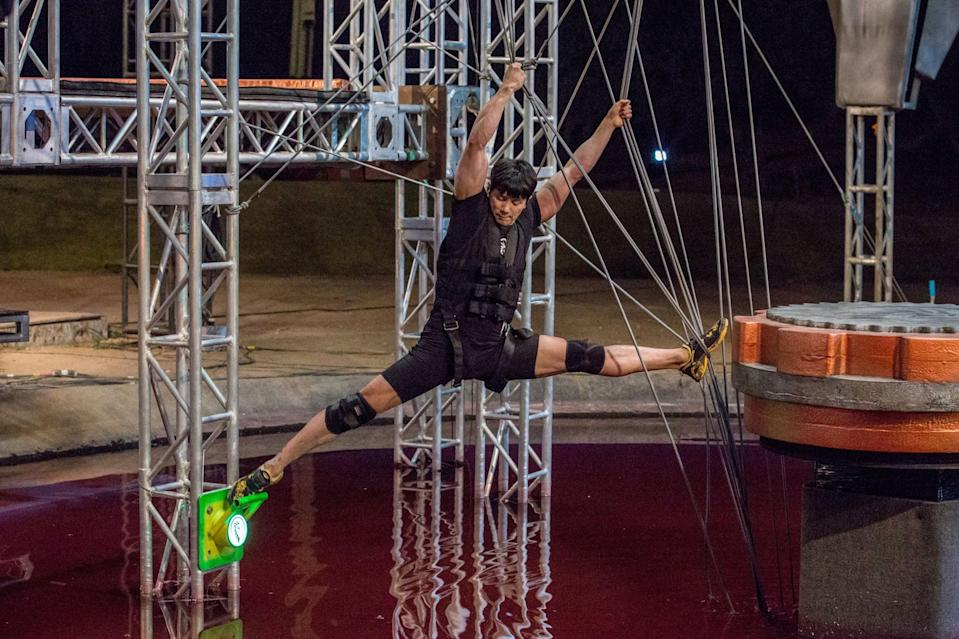 """<p>This competition show features elite competitors around the world attempting to conquer an insanely demanding obstacle course. Even if you're too stoned to get off the couch, these beasts will make your jaw drop (but please don't attempt these challenges at home). </p> <p><a href=""""http://www.netflix.com/title/80095299"""" class=""""link rapid-noclick-resp"""" rel=""""nofollow noopener"""" target=""""_blank"""" data-ylk=""""slk:Watch Ultimate Beastmaster on Netflix now."""">Watch <strong>Ultimate Beastmaster</strong> on Netflix now.</a></p>"""