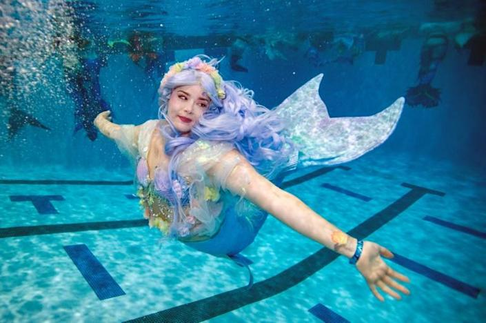 The MerMagic convention is billed as the world's largest dedicated to mermaids