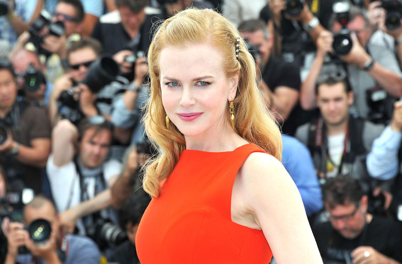 """CANNES, FRANCE - MAY 24:  Actress Nicole Kidman attends the """"The Paperboy"""" photocall during the 65th Annual Cannes Film Festival at Palais des Festivals on May 24, 2012 in Cannes, France.  (Photo by Pascal Le Segretain/Getty Images)"""
