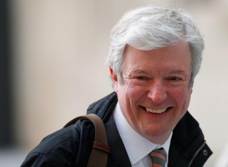 FILE PHOTO: Tony Hall arrives at Broadcasting House for his first day as the new Director General of the BBC, in central London