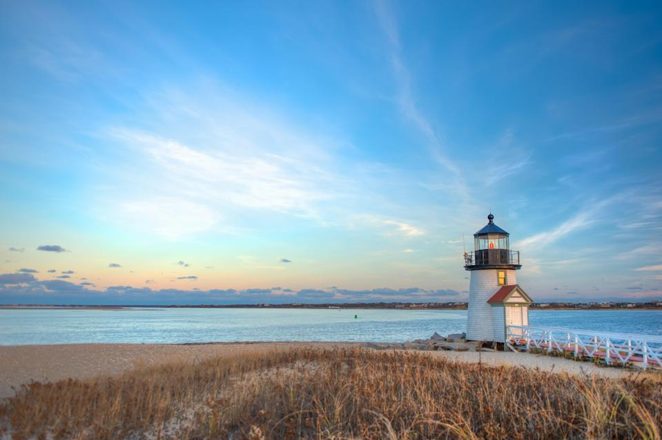 """<a href=""""https://www.cntraveler.com/gallery/the-best-beaches-on-cape-cod?mbid=synd_yahoo_rss"""" rel=""""nofollow noopener"""" target=""""_blank"""" data-ylk=""""slk:Cape Cod"""" class=""""link rapid-noclick-resp"""">Cape Cod</a> has remained a favorite of vacationing families for generations—and for good reason. From the moment you cross Sagamore Bridge (or Bourne Bridge—both connect the island to mainland Massachusetts), you, too, will be swayed by all it has to offer. The picturesque ocean views and fresh-from-the-water lobster rolls are just the beginning. For a dose of family fun, visit the historic, 48-foot-tall <a href=""""https://www.nausetlight.org/"""" rel=""""nofollow noopener"""" target=""""_blank"""" data-ylk=""""slk:Nauset Lighthouse"""" class=""""link rapid-noclick-resp"""">Nauset Lighthouse</a>, which dates back to the 19th century and played an important role in the area's maritime history, and spend the rest of the day communing with nature at the <a href=""""https://www.massaudubon.org/get-outdoors/wildlife-sanctuaries/wellfleet-bay"""" rel=""""nofollow noopener"""" target=""""_blank"""" data-ylk=""""slk:Wellfleet Bay Wildlife Sanctuary"""" class=""""link rapid-noclick-resp"""">Wellfleet Bay Wildlife Sanctuary</a>, where kids can learn about the area's wildlife and habitats on a 45-minute clue-filled quest. The <a href=""""https://www.cntraveler.com/hotels/brewster/the-villages-at-ocean-edge-resort?mbid=synd_yahoo_rss"""" rel=""""nofollow noopener"""" target=""""_blank"""" data-ylk=""""slk:Villages at Ocean Edge Resort & Golf Club"""" class=""""link rapid-noclick-resp"""">Villages at Ocean Edge Resort & Golf Club</a>, at the northern tip of the peninsula, has a massive pool, plus activities for kids of all ages, from oyster bed tours and tennis lessons to stand-up paddle boarding and kayaking on its very own Blueberry Pond."""