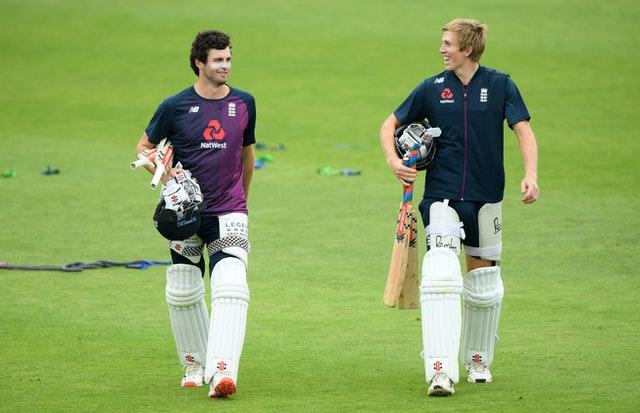 Zak Crawley, right, is set to bat at number four in Joe Root's absence