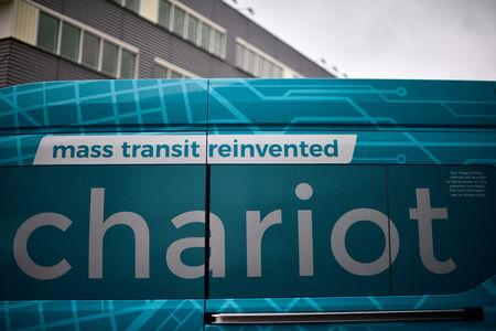 A Ford Transit Chariot van in London