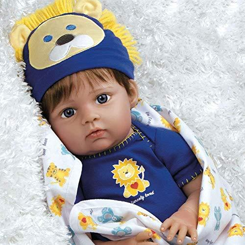 Paradise Galleries Reborn Baby Doll Boy Lions & Tigers & Bears, Oh My! Realistic Baby is Weighted and Comes with 3 Outfits. Kids 3+ (Amazon / Amazon)