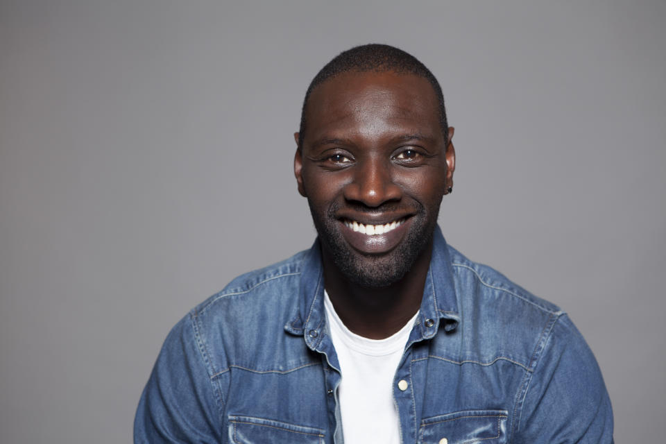 Omar Sy poses for a portrait at the Montage Hotel on Monday, July 20, 2015, in Beverly Hills, Calif. (Photo by Rebecca Cabage/Invision/AP)