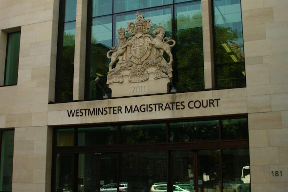 Westminster Magistrates Court (file photo) (Google Street View)
