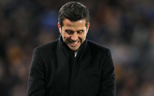 <span>Marco Silva continued his impeccable home record </span> <span>Credit: PA </span>