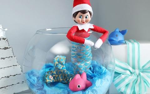 Mermaid Elf - Credit: ® AND © CCA AND B, LLC. ALL RIGHTS RESERVED.