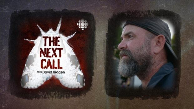 'The Next Call' is the latest investigative podcast series from David Ridgen, who also created and hosts 'Someone Knows Something.' As part of his new series, Ridgen is looking into the unsolved 2007 murder of 19-year-old Angel Carlick in Whitehorse. (Ben Shannon/CBC, David Ridgen - image credit)