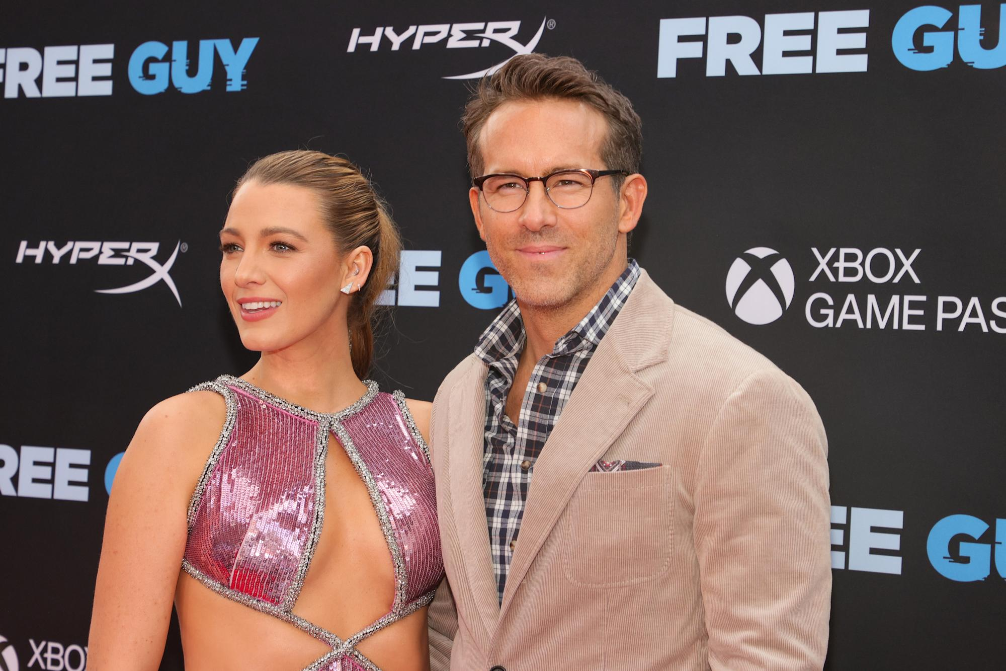 Ryan Reynolds talks being a 'girl dad' with wife Blake Lively: 'I didn't expect to be a dad. I didn't expect to be married.' - Yahoo Life