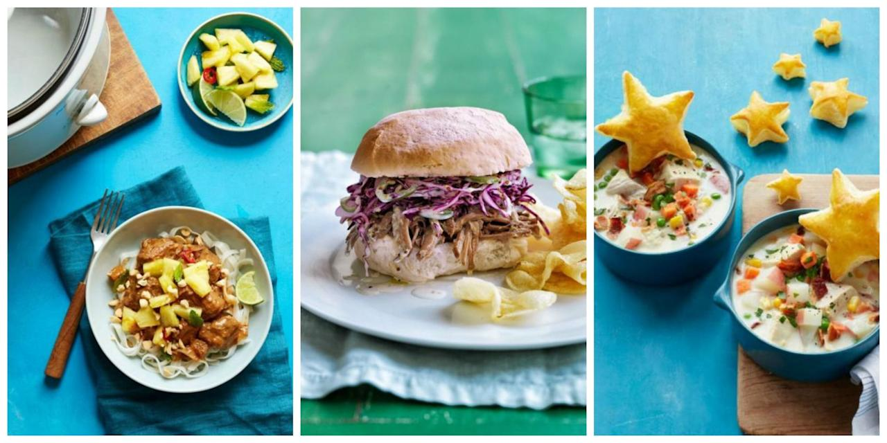 <p>Try out these slow cooker dinner recipes for days of simple and scrumptious meals.</p>