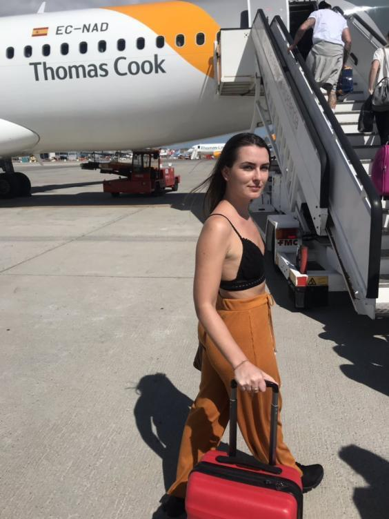 Thomas Cook Airlines tells female passenger to 'cover up or leave plane'