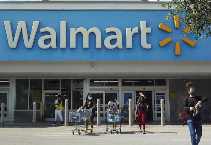 <p>FBI is looking for two men and a woman in connection with the suspicious fires at several Walmart locations</p> (Getty Images)