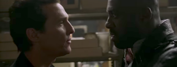 Michael McConaughey and Idris Elba in 'The Dark Tower'