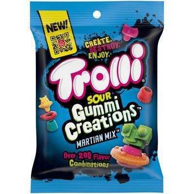 Trolli Invades Candy Aisle with New Buildable Sour Gummi Creations Martian Mix